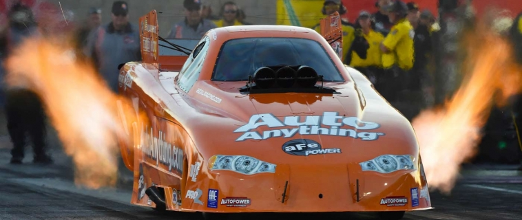Chuck Beal back with new nitro funny car, new driver, primary sponsorship from AutoAnything